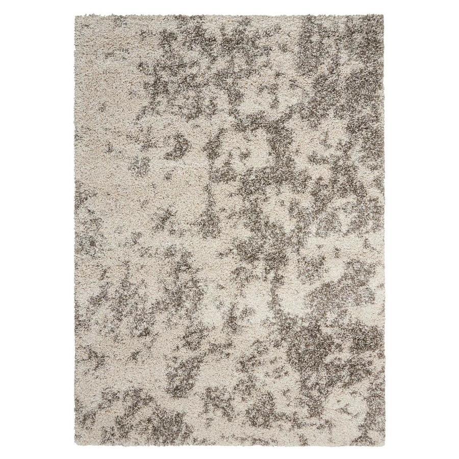 Nourison Amore Cobble Stone Indoor Area Rug (Common: 8 x 10; Actual: 7.8333-ft W x 10.8333-ft L)