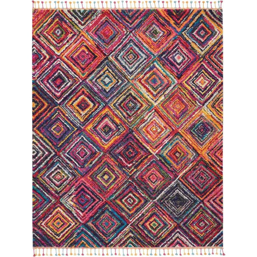 Nourison Moroccan Casbah Red Colored Indoor Moroccan Area