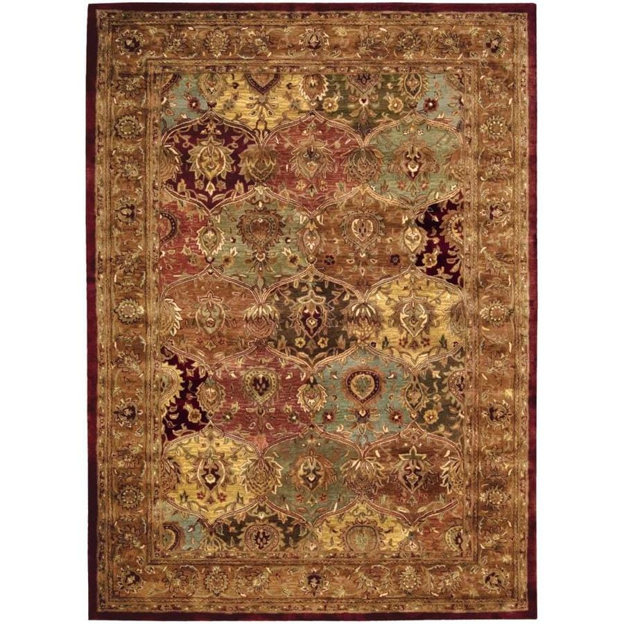 Nourison Jaipur Handcrafted Area Rug (Common: 8 x 11; Actual: 8.25-ft W x 11.5-ft L)