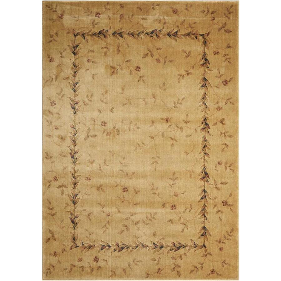 Nourison SOMERSET Beige  Indoor  Nature Area Rug (Common: 2 x 3; Actual: 2-ft W x 2-ft L)