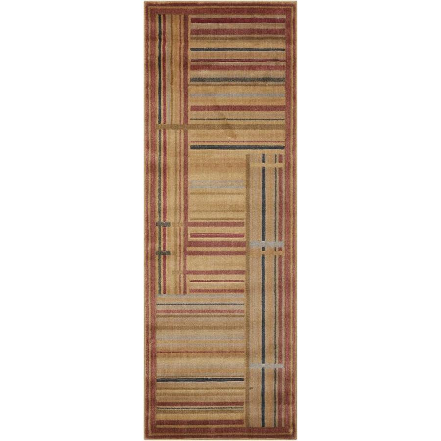 Nourison Somerset Multicolor Rectangular Indoor Area Rug (Common: 2 x 6; Actual: 2-ft W x 5.75-ft L x 0.5-ft dia)