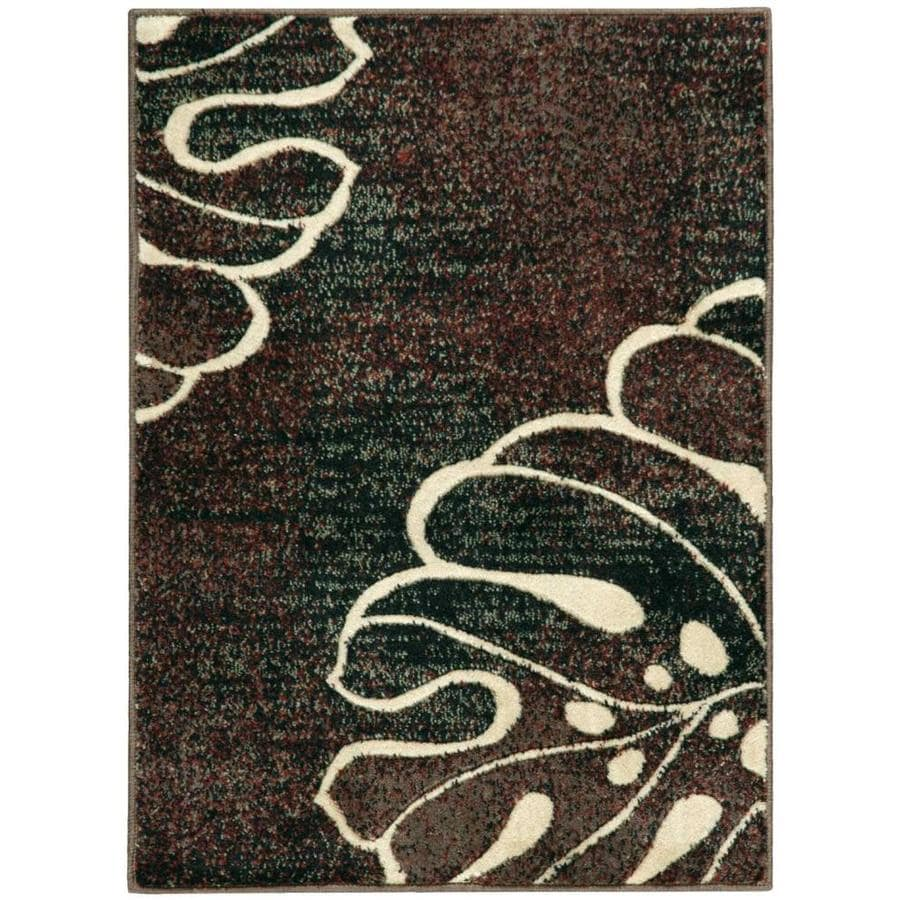 Nourison Expressions Multicolor Indoor Area Rug (Common: 2 x 3; Actual: 2-ft W x 2.75-ft L x 0.5-ft dia)