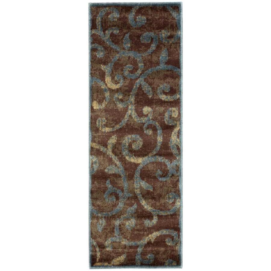 Nourison Expressions Multicolor Rectangular Indoor Area Rug (Common: 2 x 6; Actual: 2-ft W x 5.75-ft L x 0.5-ft dia)
