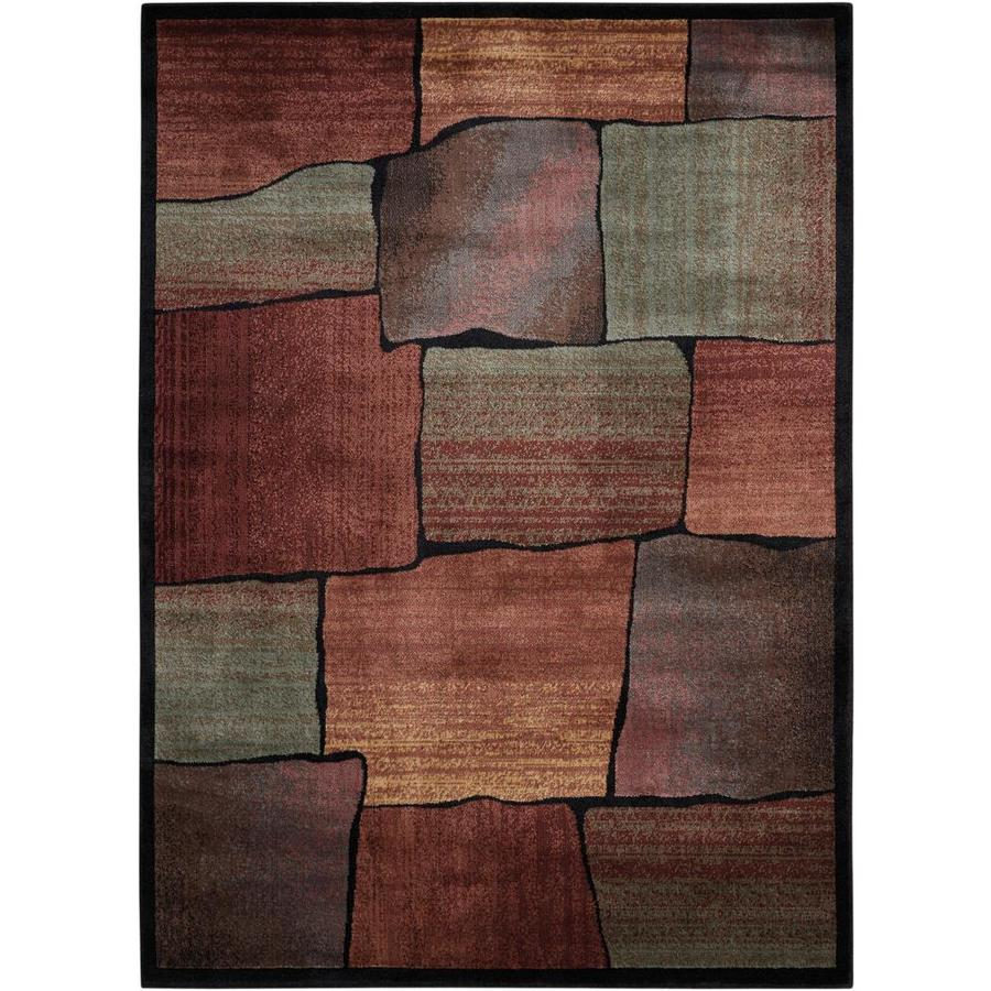 Nourison Expressions Indoor Area Rug (Common: 3 x 5; Actual: 3.5-ft W x 5.5-ft L)