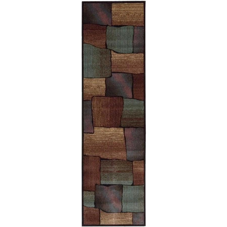 Nourison Expressions Multicolor Rectangular Indoor Area Rug (Common: 2 x 7; Actual: 2.25-ft W x 8-ft L x 0.5-ft dia)