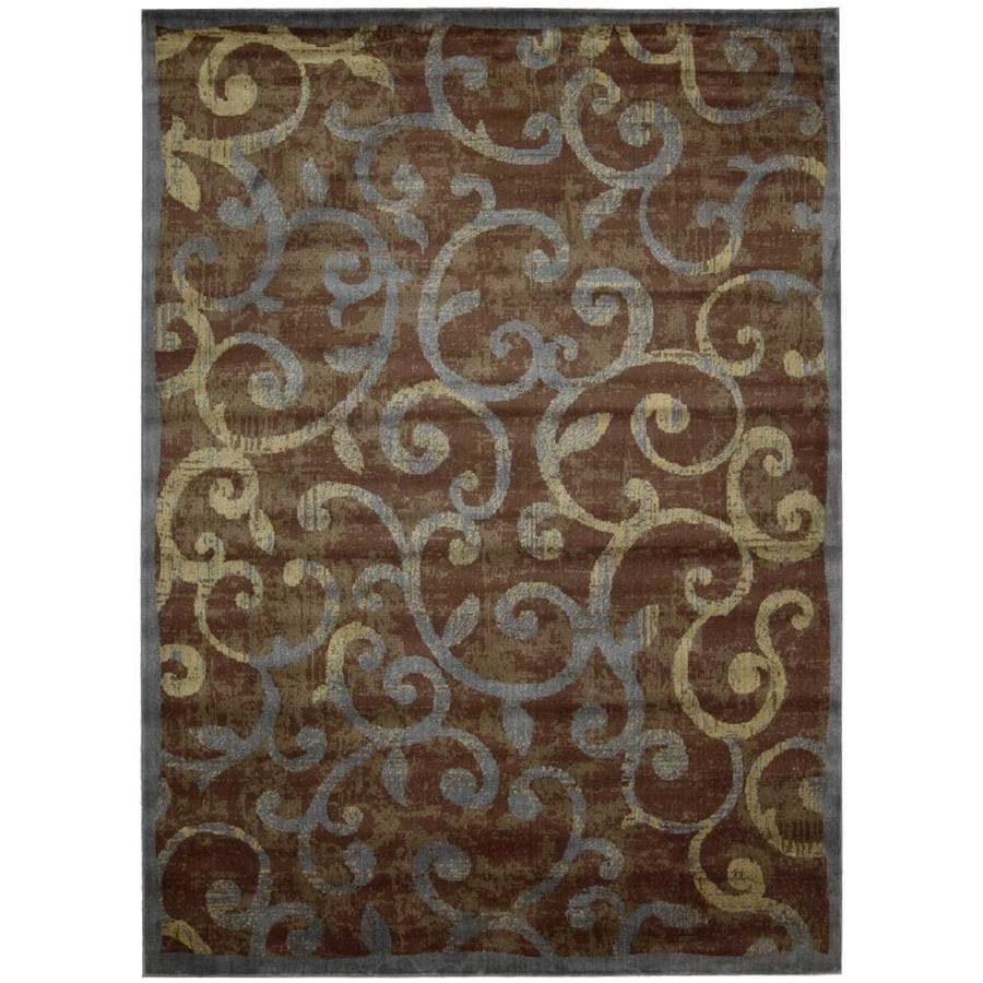 Nourison Expressions Indoor Area Rug (Common: 8 x 10; Actual: 7.75-ft W x 10.8333-ft L)