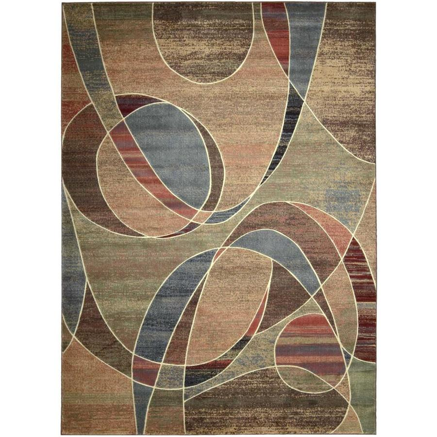 Nourison Expressions Area Rug (Common: 8 x 10; Actual: 7.75-ft W x 10.83-ft L)
