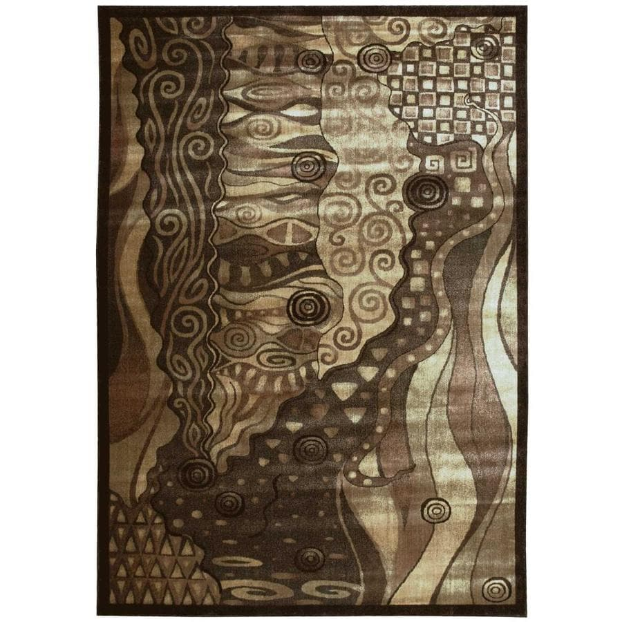 Nourison Expressions Area Rug (Common: 9 x 13; Actual: 9.5-ft W x 13.5-ft L)