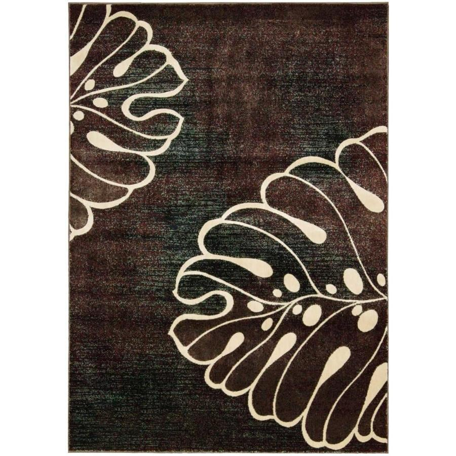 Nourison Expressions Indoor Area Rug (Common: 5 x 7; Actual: 5.25-ft W x 7.4167-ft L)