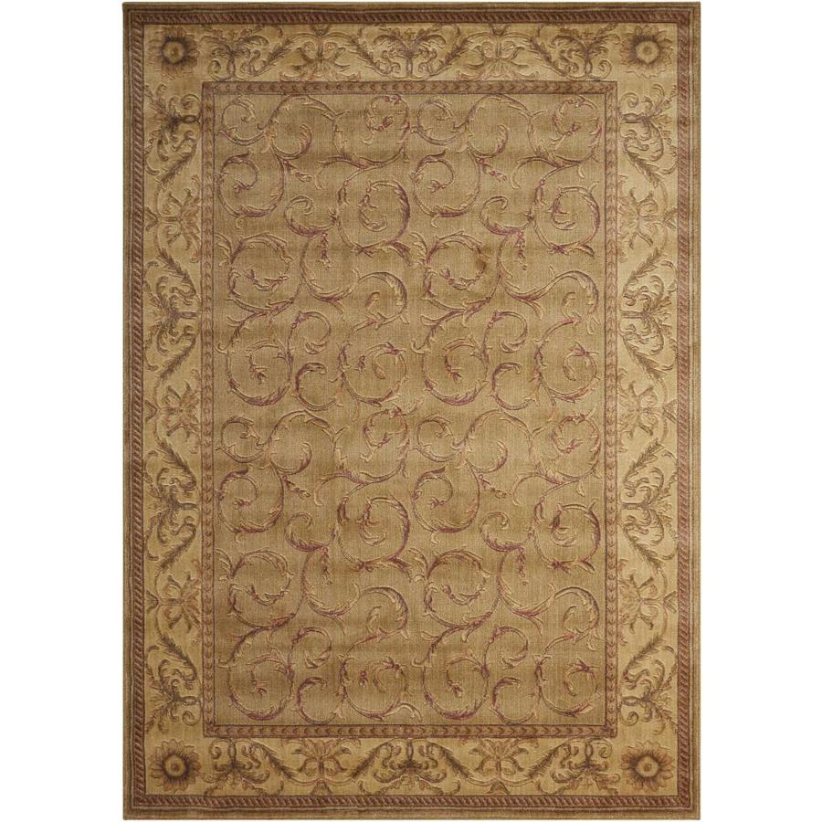 Nourison Somerset Meadow Rectangular Indoor Area Rug (Common: 2 x 3; Actual: 2-ft W x 2.75-ft L x 0.5-ft dia)