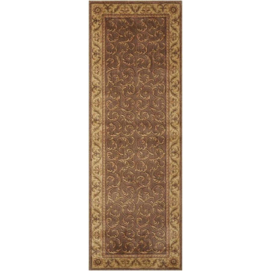 Nourison Somerset Khaki Area Rug (Common: 2 x 6; Actual: 2-ft W x 5.75-ft L)