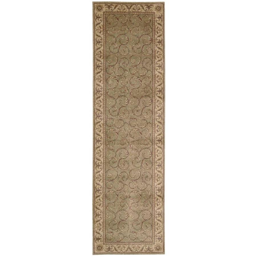 Nourison SOMERSET Meadow  Indoor  Traditional Area Rug (Common: 2 x 8; Actual: 2-ft W x 8-ft L)