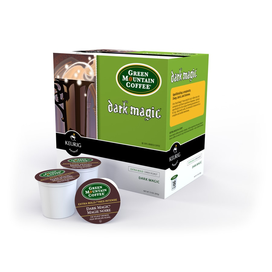 Keurig 18-Pack Green Mountain Coffee Dark Magic Extra Bold Single-Serve Coffee