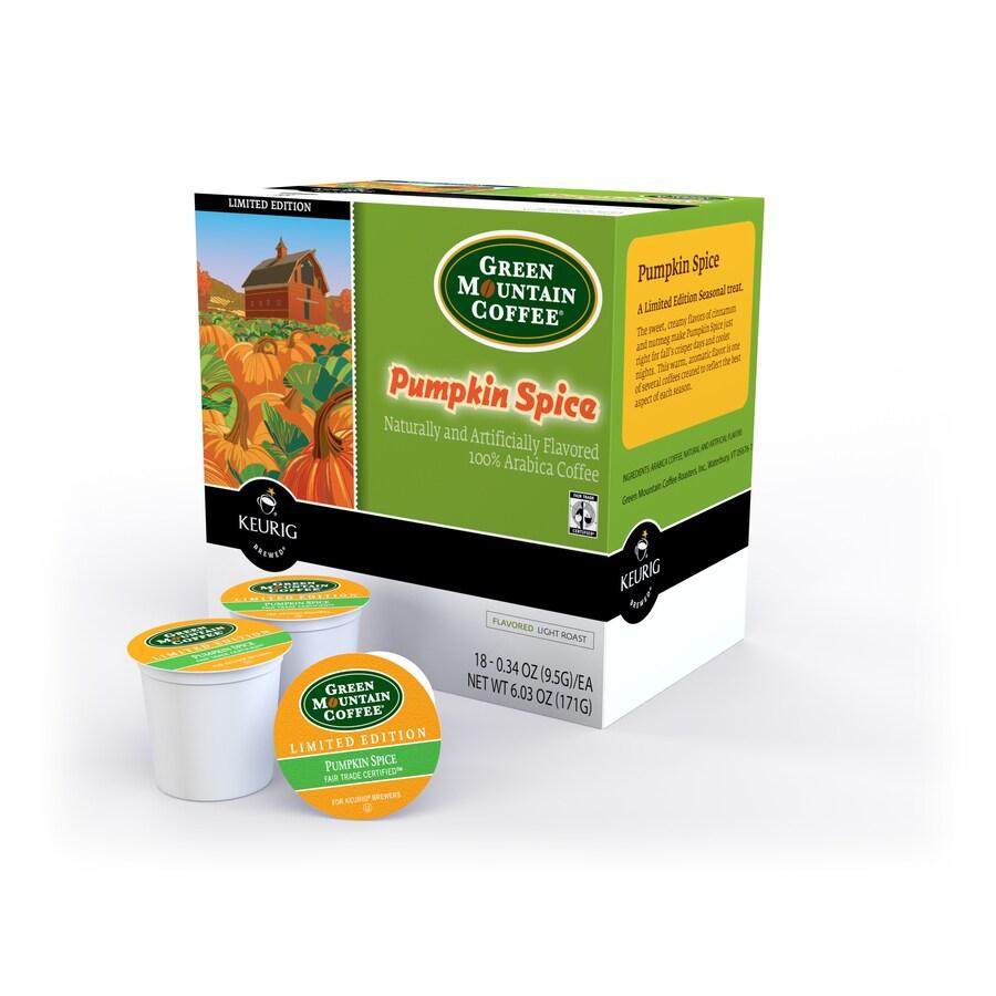 Keurig 18-Pack Green Mountain Coffee Pumpkin Spice Single-Serve Coffee