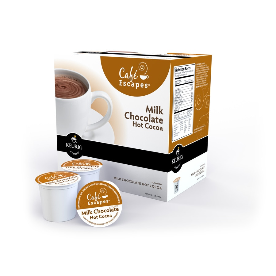 Keurig 16-Pack Café Escapes Single-Serve Milk Chocolate Hot Cocoa