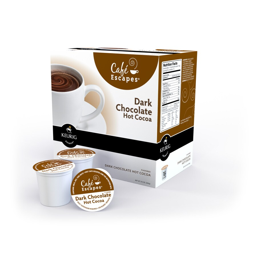 Keurig 16-Pack Café Escapes Dark Chocolate Single-Serve Hot Cocoa