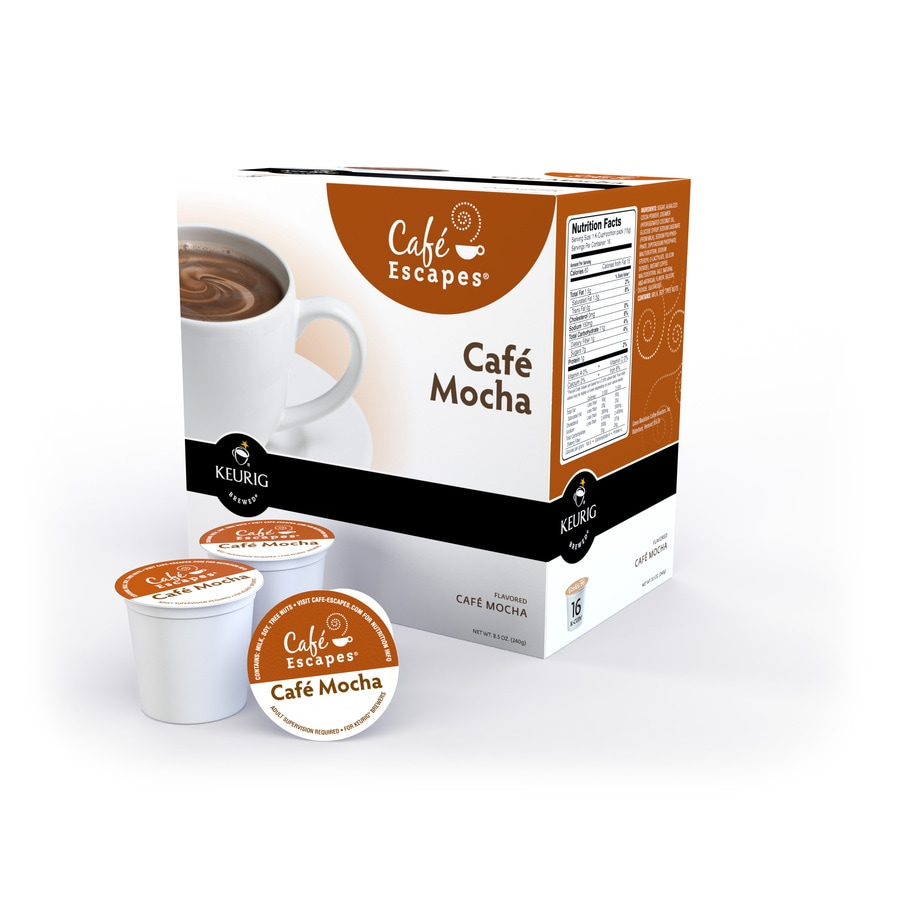 Keurig 16-Pack Café Escapes Mocha Single-Serve Coffee