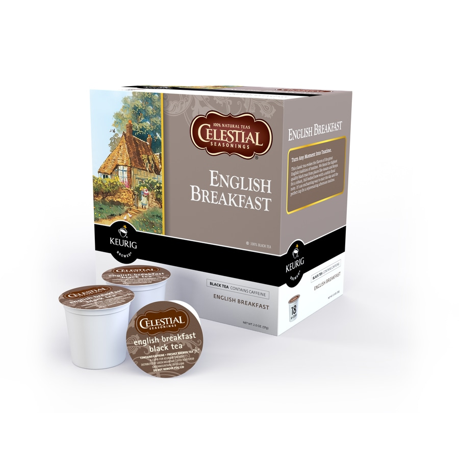 Keurig 18-Pack Celestial Seasonings Breakfast Blend Single-Serve Tea