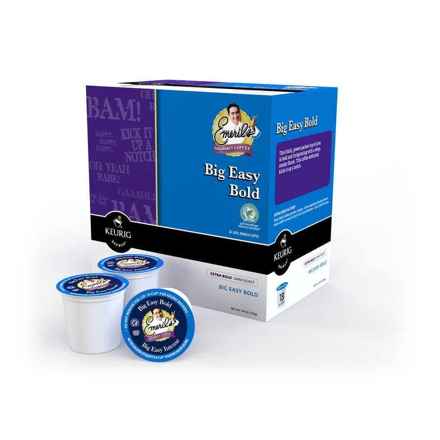 Keurig 18-Pack Emeril's Big Easy Bold Single-Serve Coffee