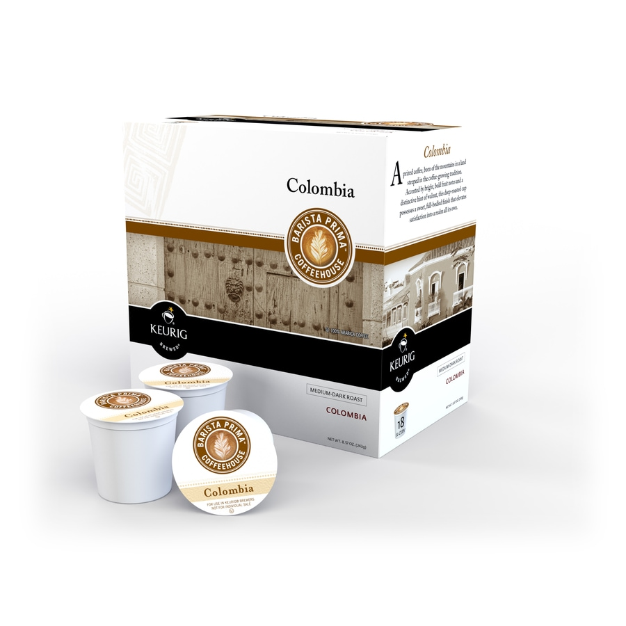 Keurig 18-Pack Barista Prima Coffeehouse Coffee Columbia Single-Serve Coffee