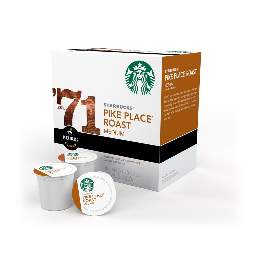 Keurig 16-Pack Starbucks Pike Place Roast Single-Serve Coffee