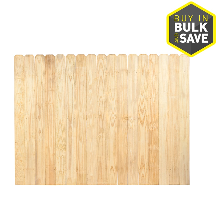 severe weather pressure treated pine privacy fence panel
