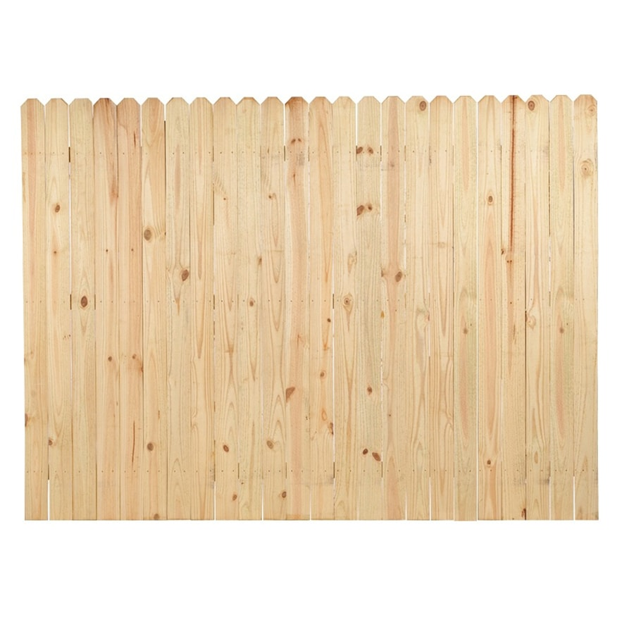 Severe Weather Actual 6 Ft X 8 Ft Pressure Treated Pine