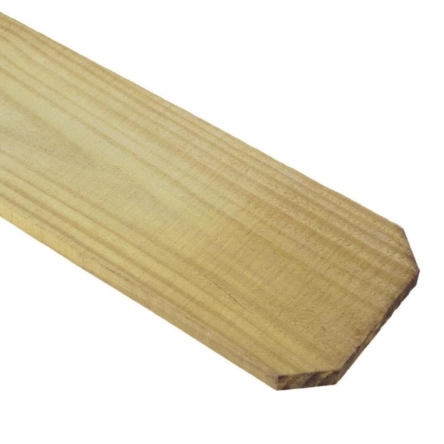 Pressure Treated Southern Yellow Pine Fence Picket (Common: 1-in x 5-1/2-in x 6-ft; Actual: 1-in x 5.625-in x 6-ft)