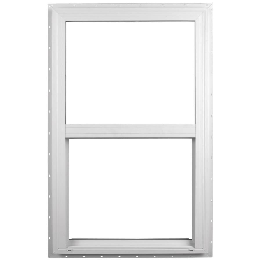 Ply Gem 2600 Series Vinyl Double Pane Single Strength Single Hung Window (Rough Opening: 36-in x 54-in; Actual: 35.5-in x 53.5-in)