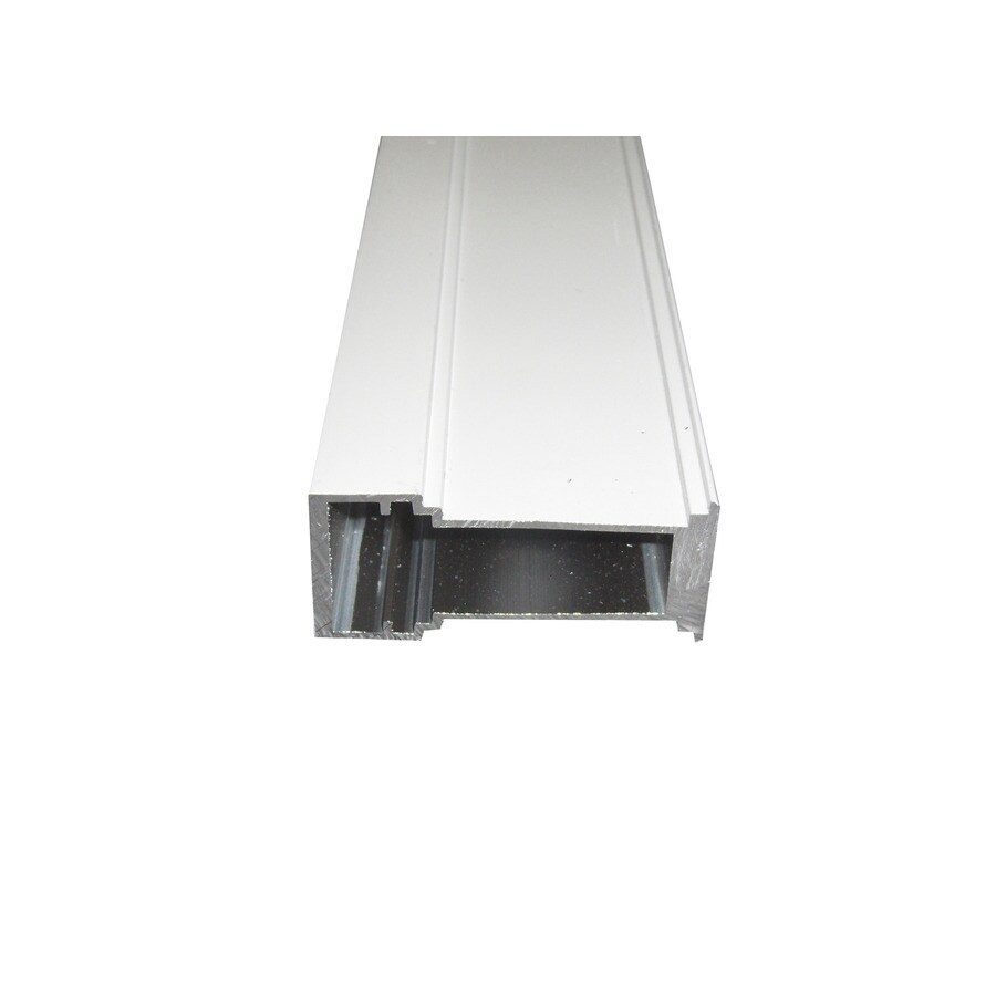 Shop ply gem 35 1 4 in white aluminum complete mull kit at for Ply gem vinyl windows reviews