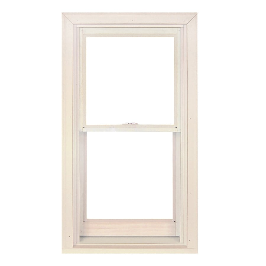 Shop ply gem windows 4100 dh wood double pane single for New construction windows reviews