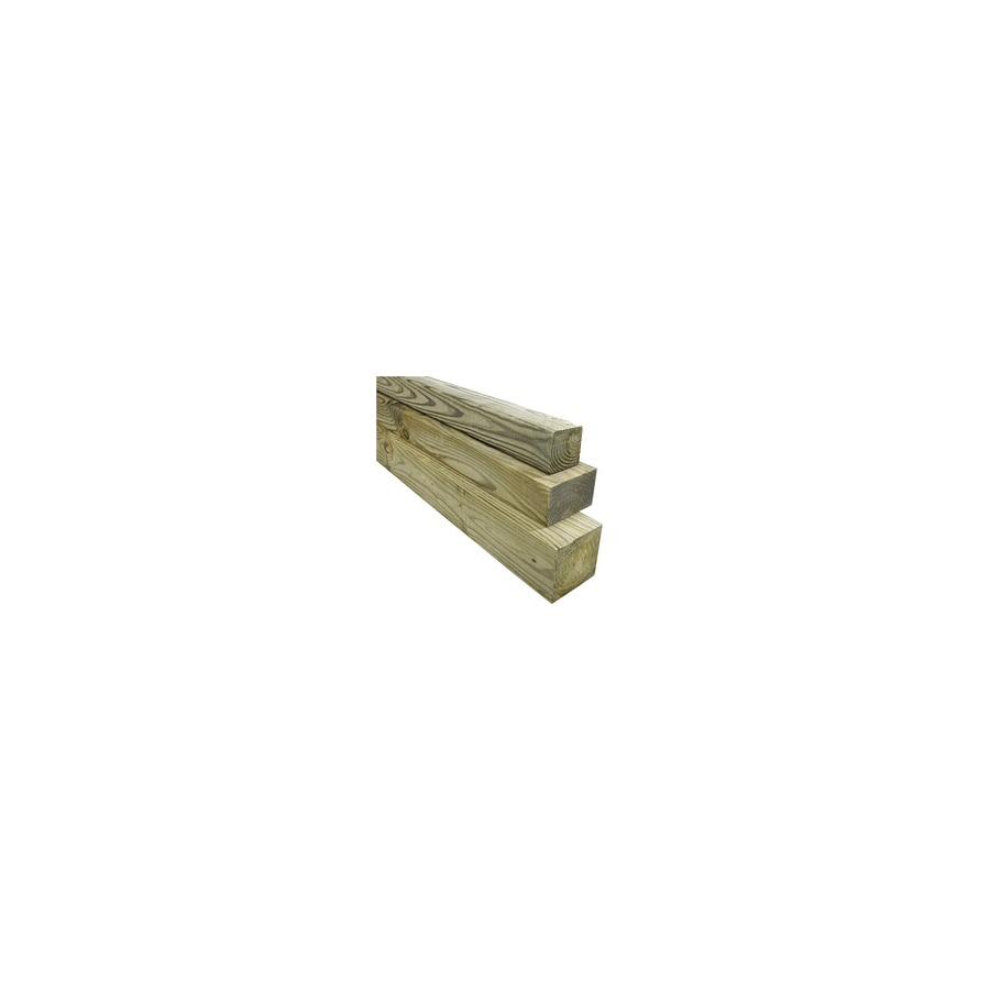 #2 Pressure Treated Lumber (Common: 4-in x 4-in x 10-ft; Actual: 3-1/2-in x 3-1/2-in x 10-ft)