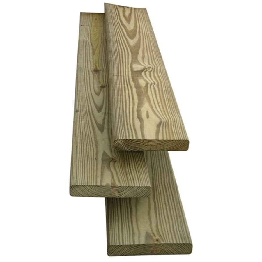 5/4 x 6 x 12 Standard Treated Decking