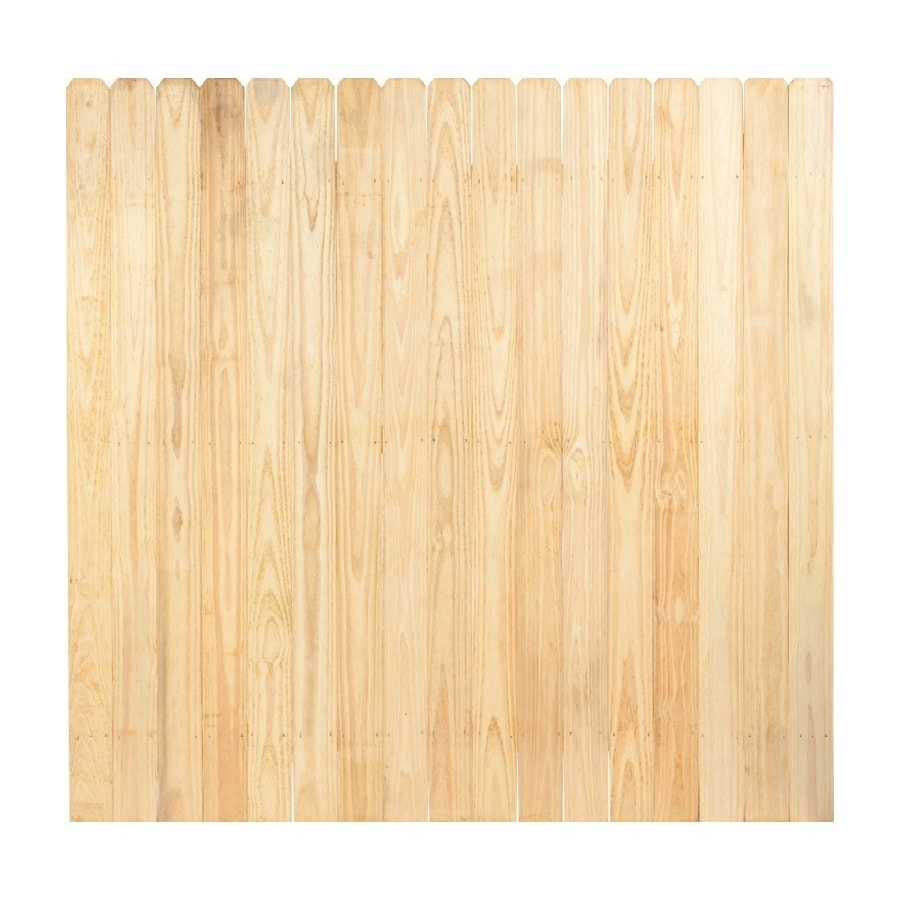 (Common: 8-ft x 8-ft; Actual: 8-ft x 8-ft) Pressure Treated Pine Privacy Fence Panel
