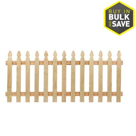 Spaced Picket Fence Panels At Lowes Com