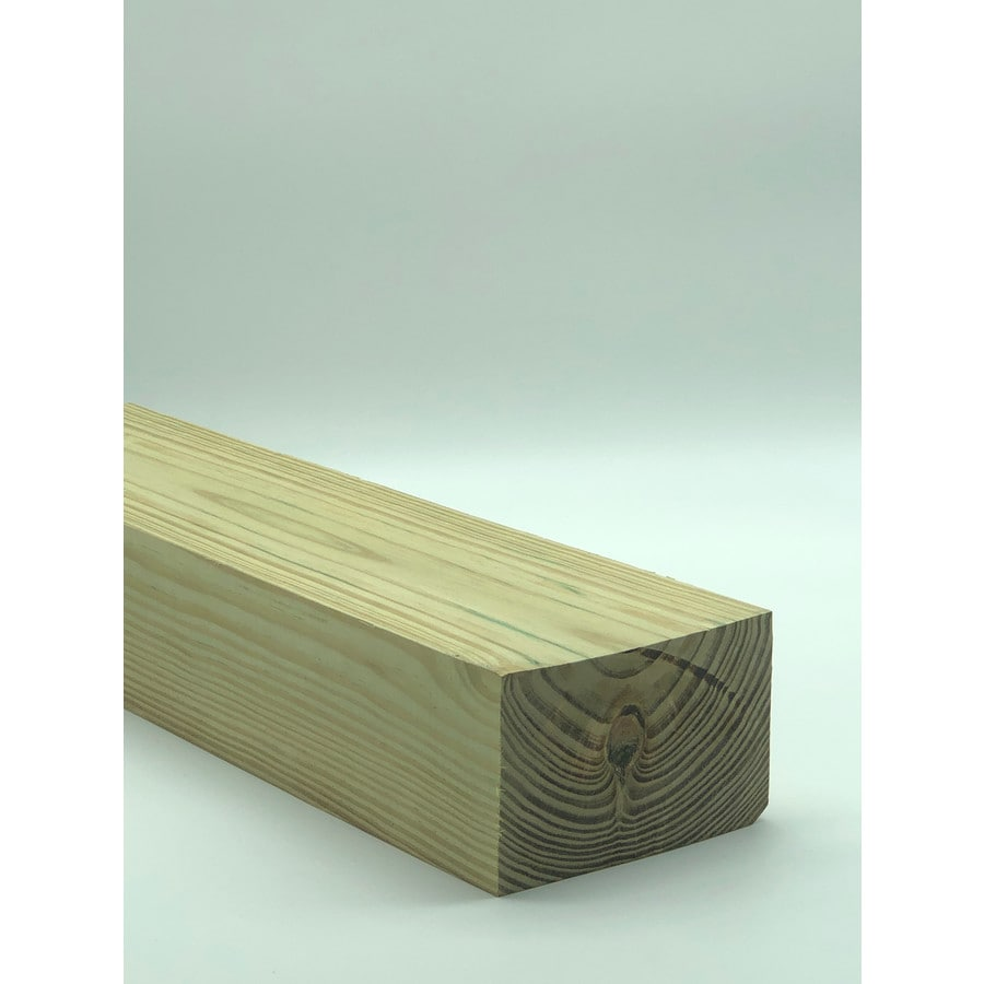 Severe Weather (Common: 4-in x 6-in x 12-Ft; Actual: 3.5-in x 5.5-in x 12 Feet) Pressure Treated Lumber