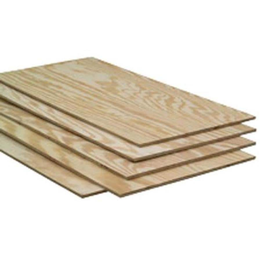 Severe Weather 1/2-in Common Pine Plywood Sheathing , Application as