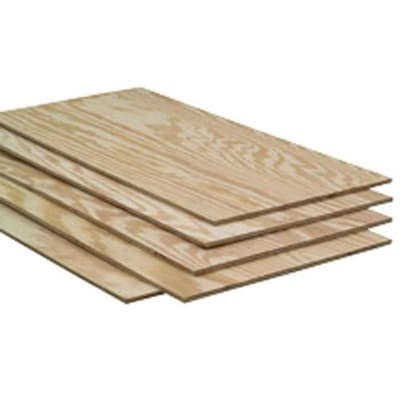 Severe Weather 1/2-in Common Pine Plywood Sheathing