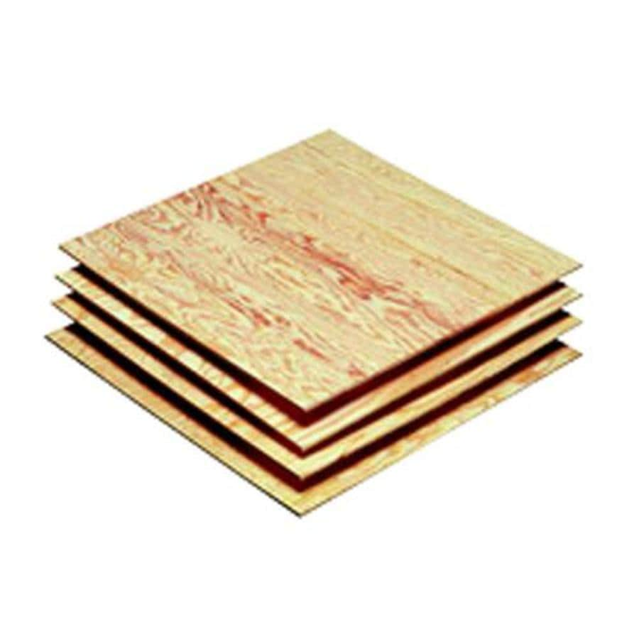 Severe Weather 3/4-in Common Pine Plywood Sheathing , Application as 2 x 2