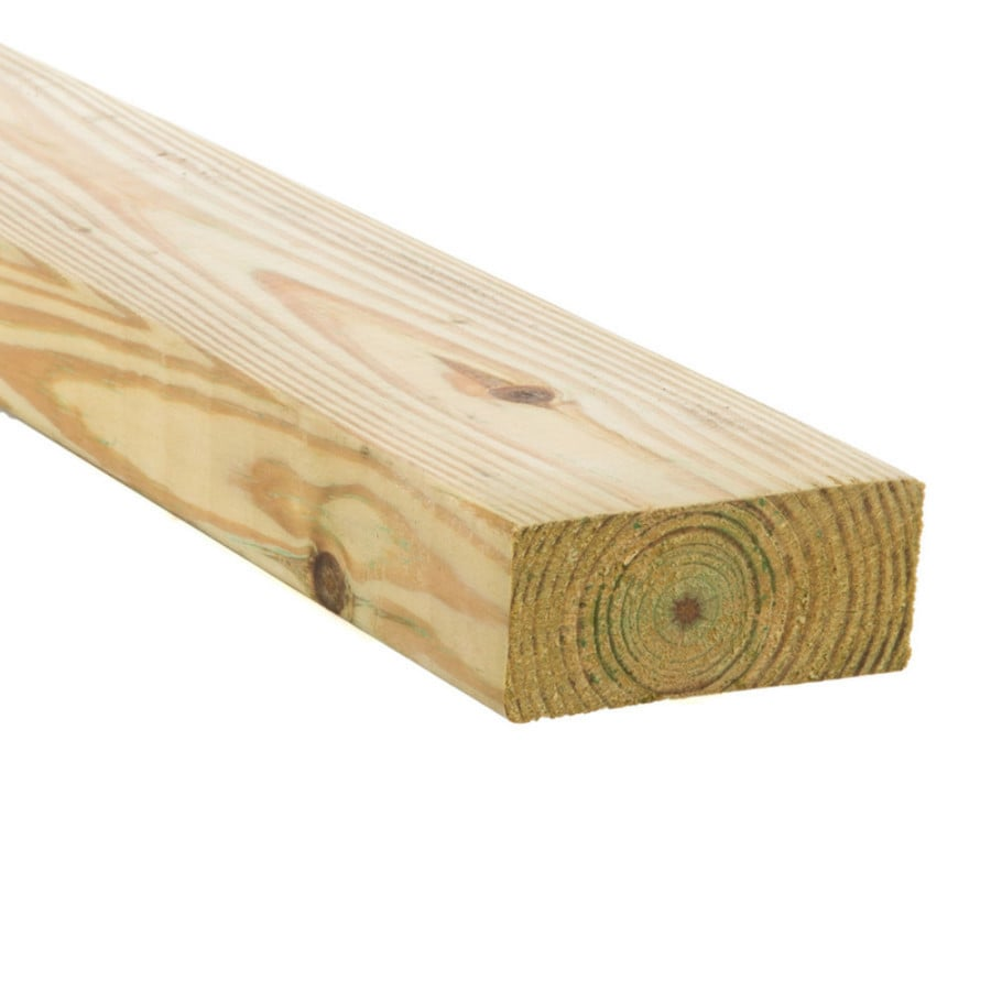 Top Choice (Common: 2-in x 4-in x 10-ft; Actual: 1.5-in x 3.5-in x 10-ft) Pressure Treated Lumber
