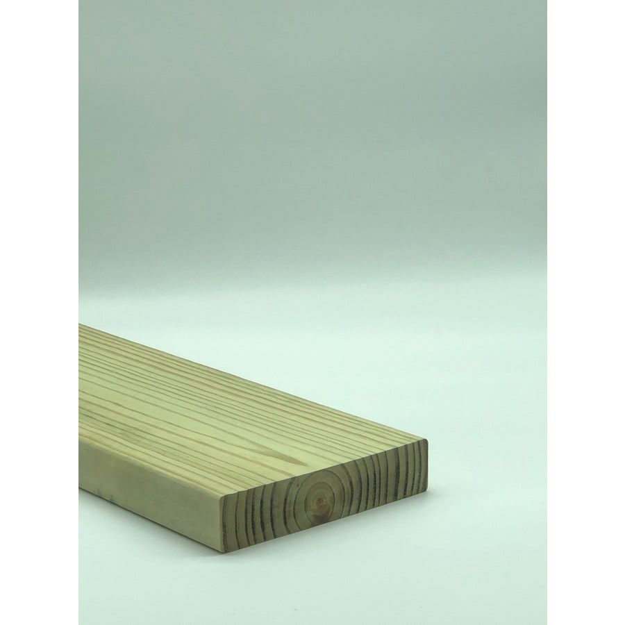 Top Choice (Common: 2-in x 8-in x 10-ft; Actual: 1.5-in x 7.25-in x 10-ft) Pressure Treated Lumber