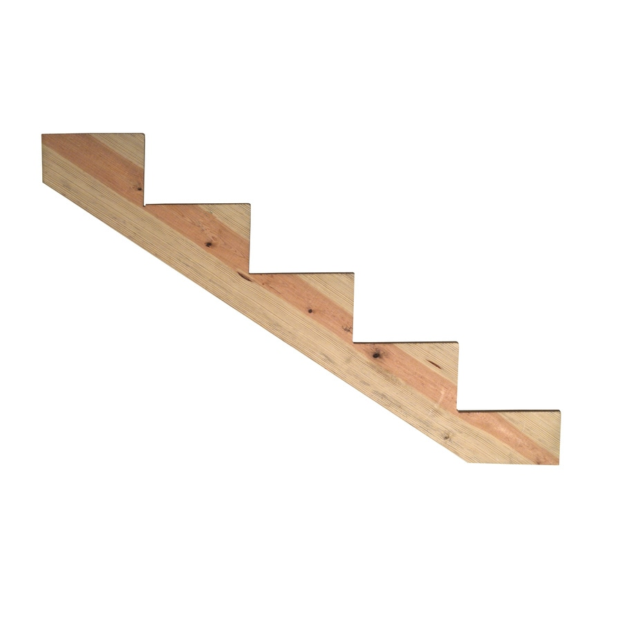 Severe Weather 5-Step Pressure Treated Pine Deck Stair Stringer