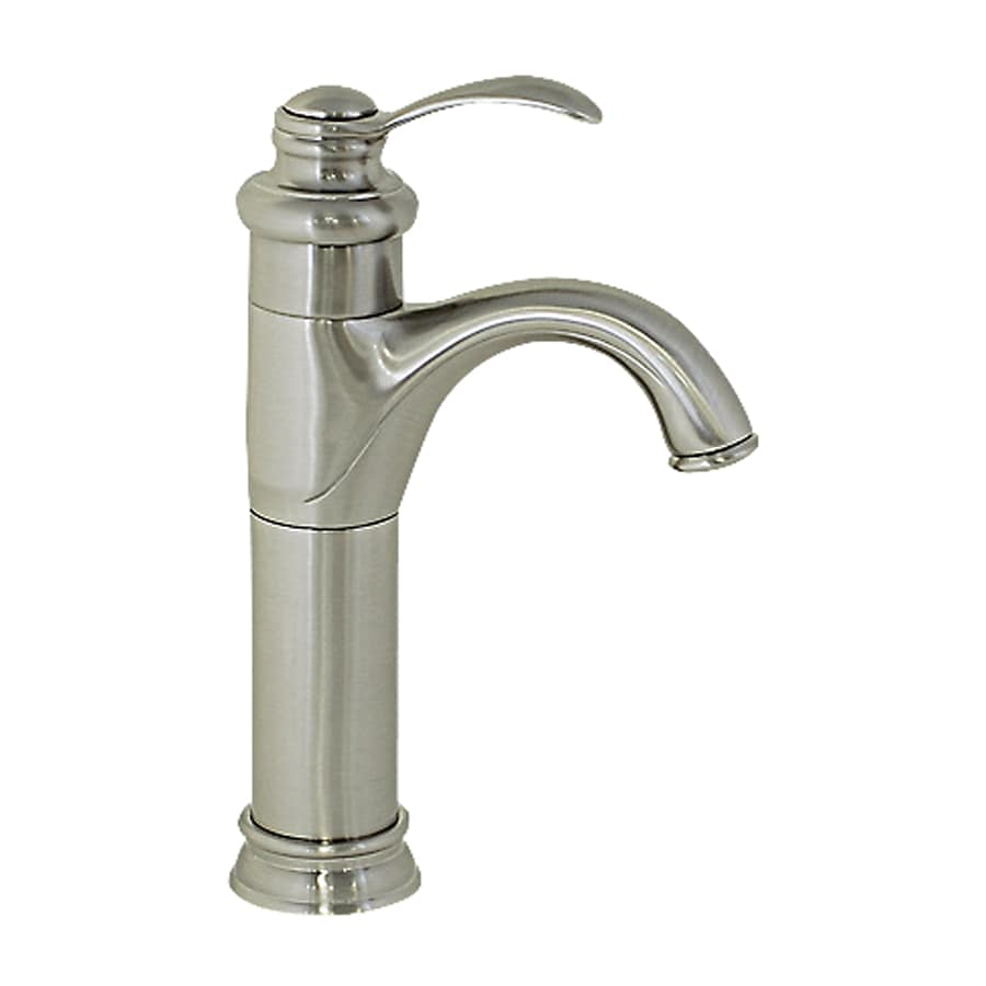 Kokols USA Brushed Nickel 1-Handle Vessel Bathroom Faucet