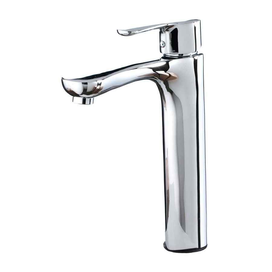 Shop Kokols Usa Polished Chrome 1 Handle Vessel Commercial Bathroom Faucet At