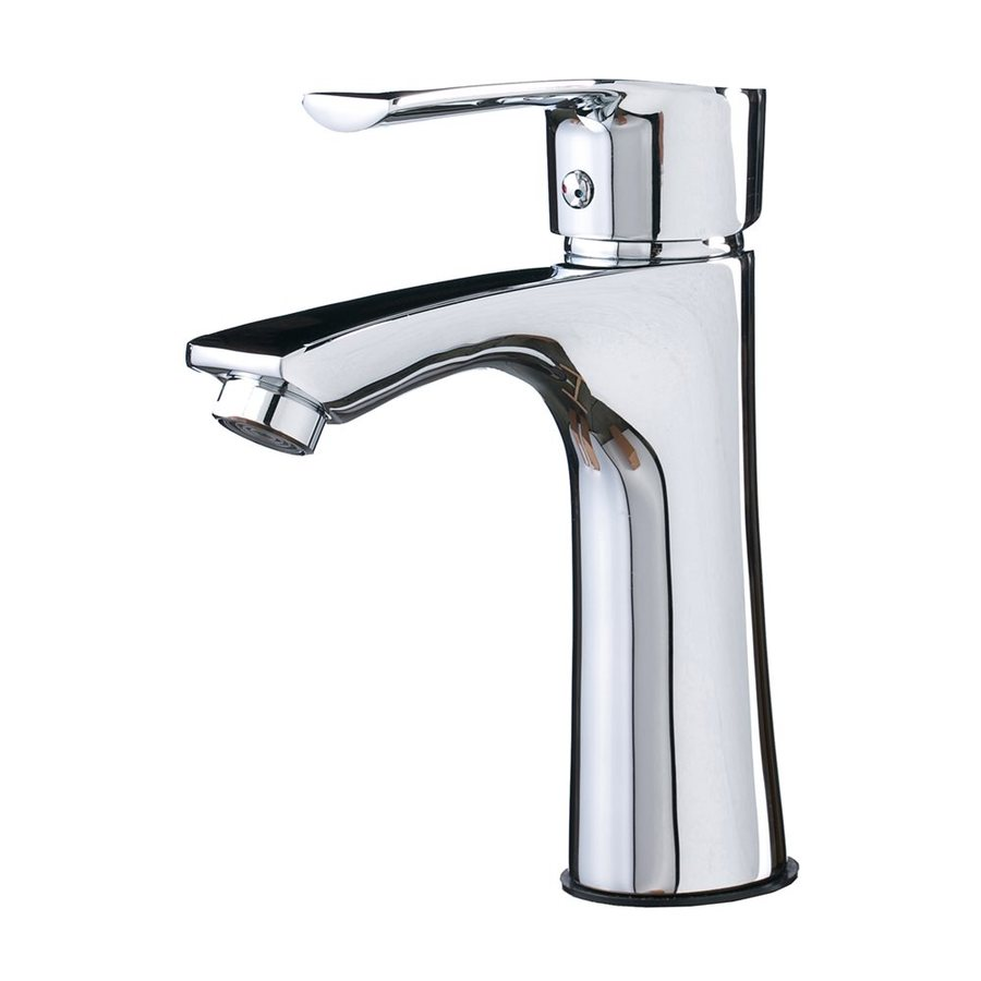 Shop Kokols Usa Polished Chrome 1 Handle Single Hole Commercial Bathroom Faucet At