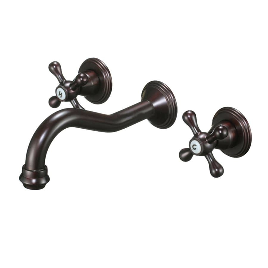Shop Kokols Usa Oil Rubbed Bronze 2 Handle Widespread Commercial Bathroom Faucet At