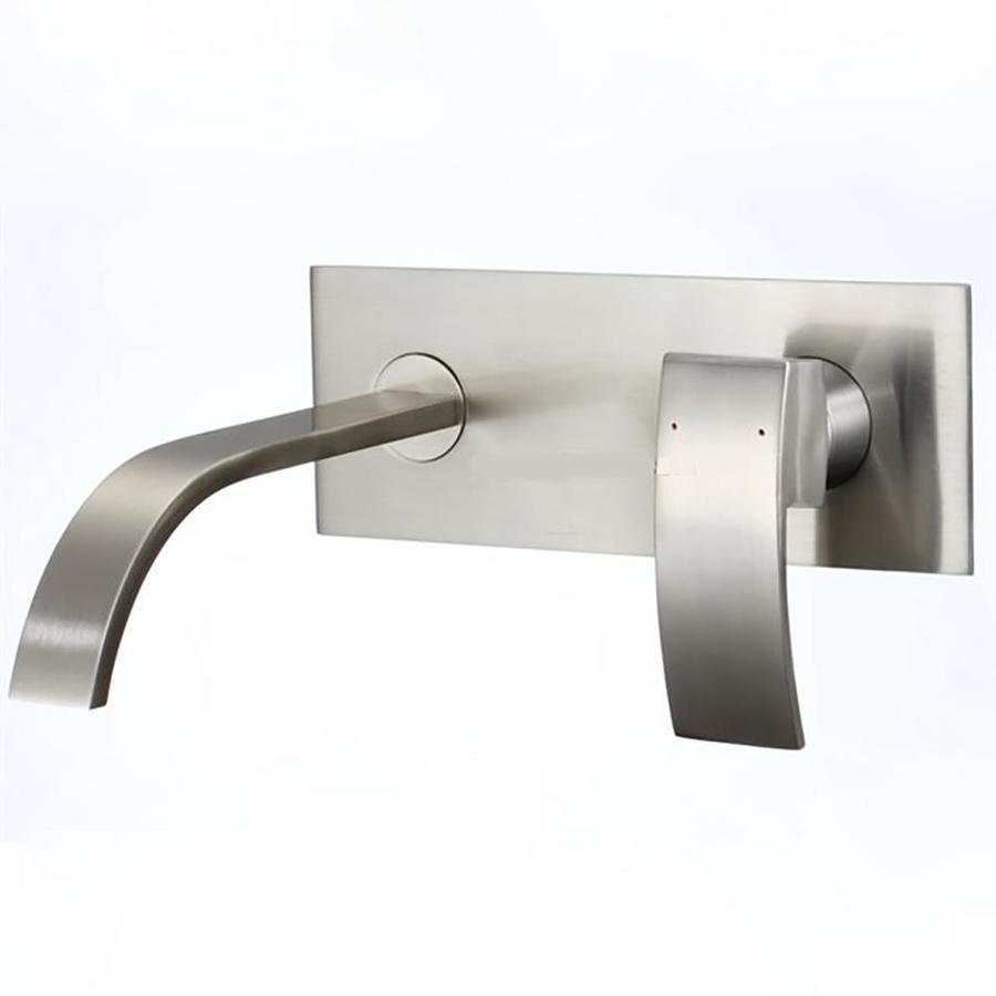 Kokols USA Brushed Nickel 1-Handle 2-Hole Bathroom Faucet