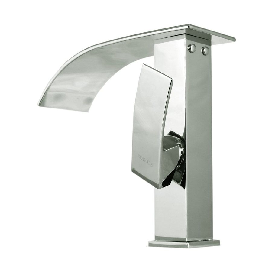 Shop Kokols Usa Polished Chrome 1 Handle Vessel Bathroom Faucet At
