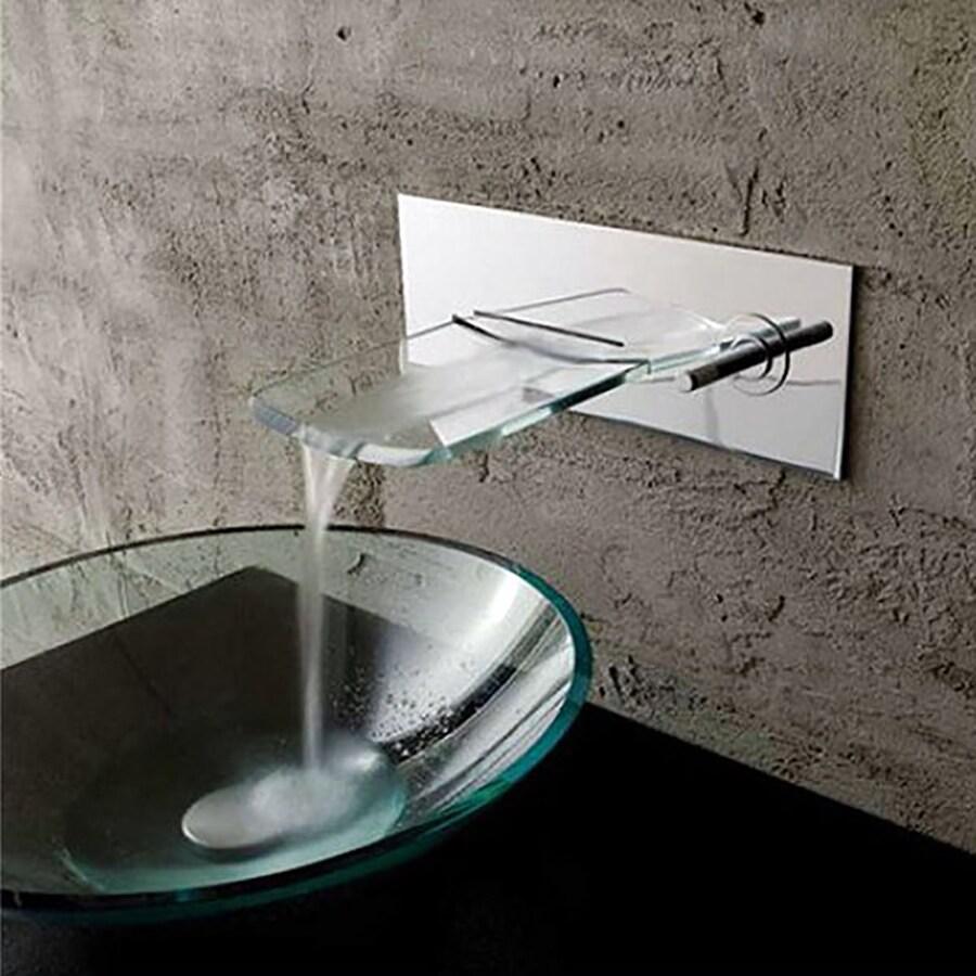 Kokols USA Polished chrome 1-handle Single Hole Bathroom Faucet