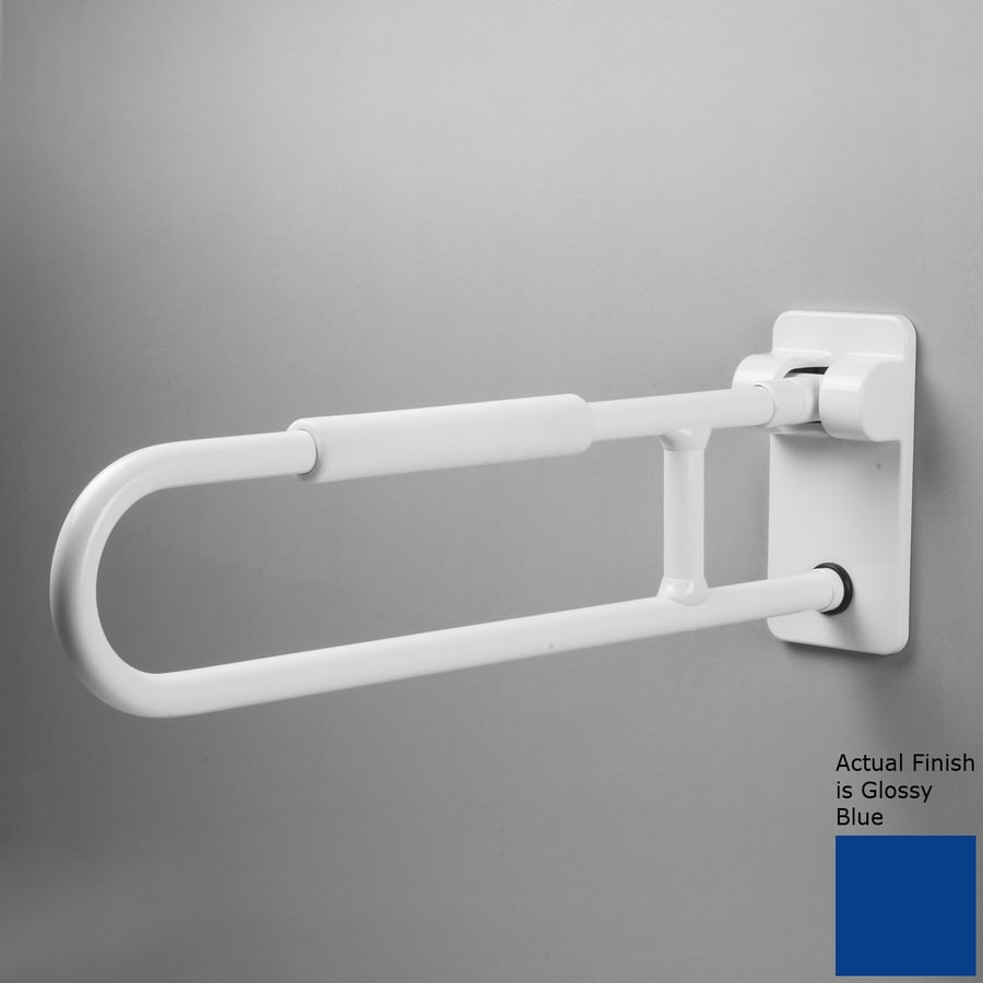 Ponte Giulio USA Glossy Blue Wall Mount Grab Bar